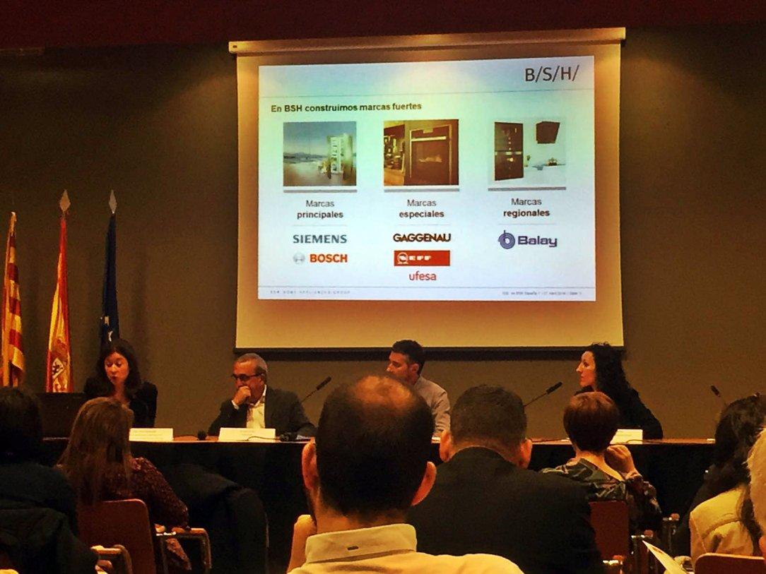 Mesa redonda con BSH Group, Implaser y Fundación Picarral