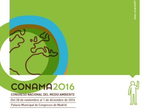 El cartel de la edición de CONAMA que comienza