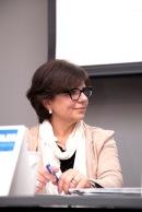 Gloria Codinas, moderadora del taller